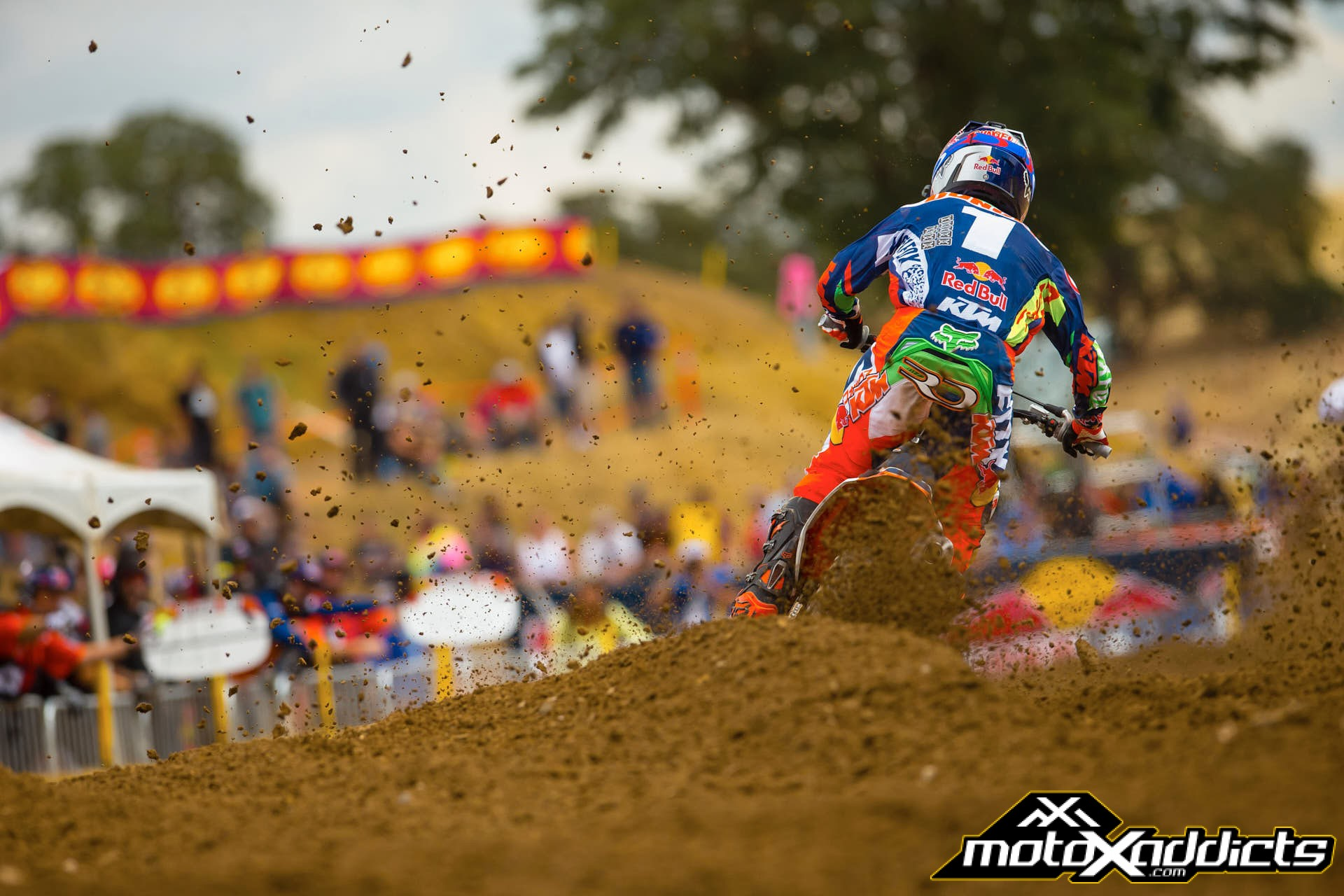 Ryan Dungey had the fastest lap, but could not keep the #94 in sight. Photo by: Hoppenworld