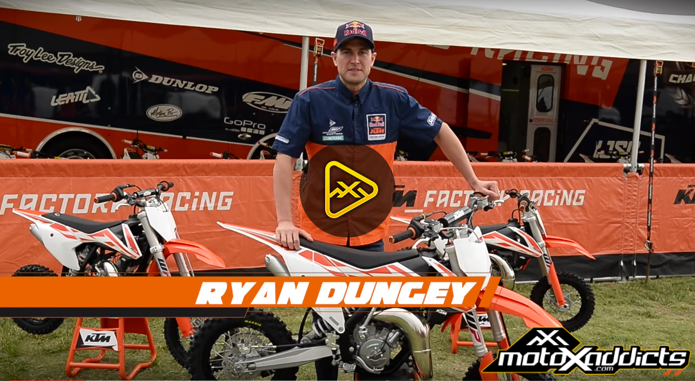 Ryan Dungey introduces the all new 2017 Sportminicycles