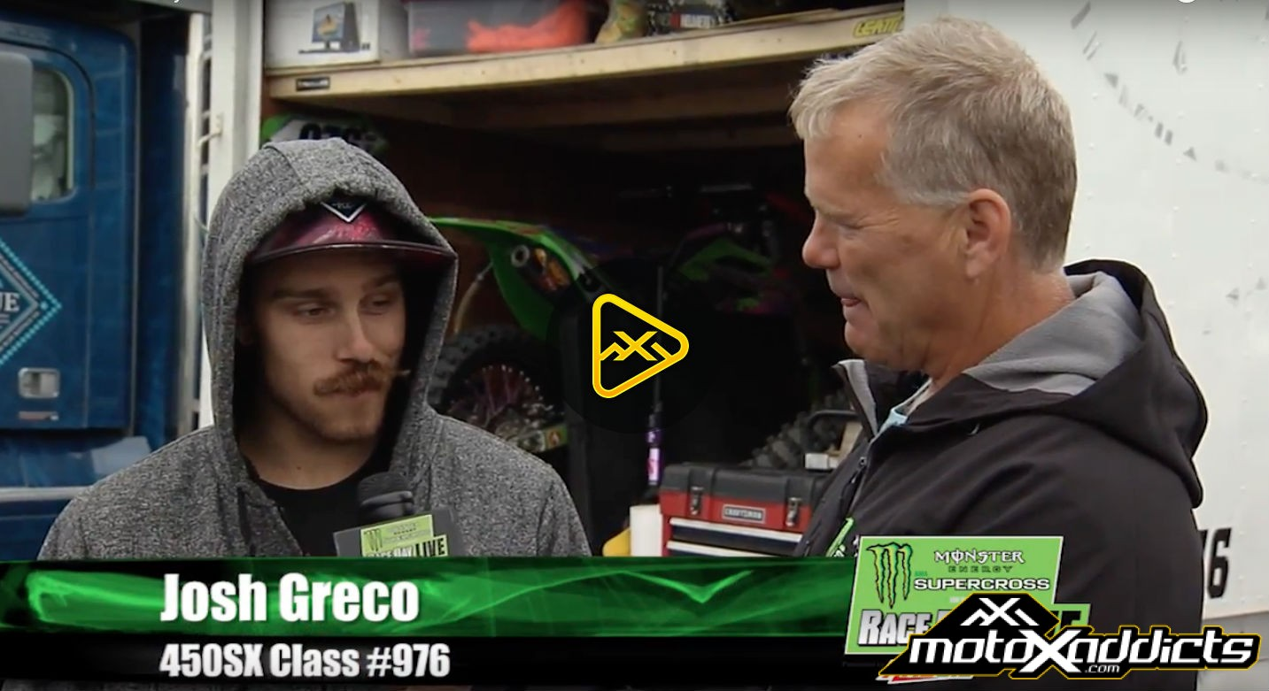 True Privateer Josh Greco at 2016 East Rutherford SX