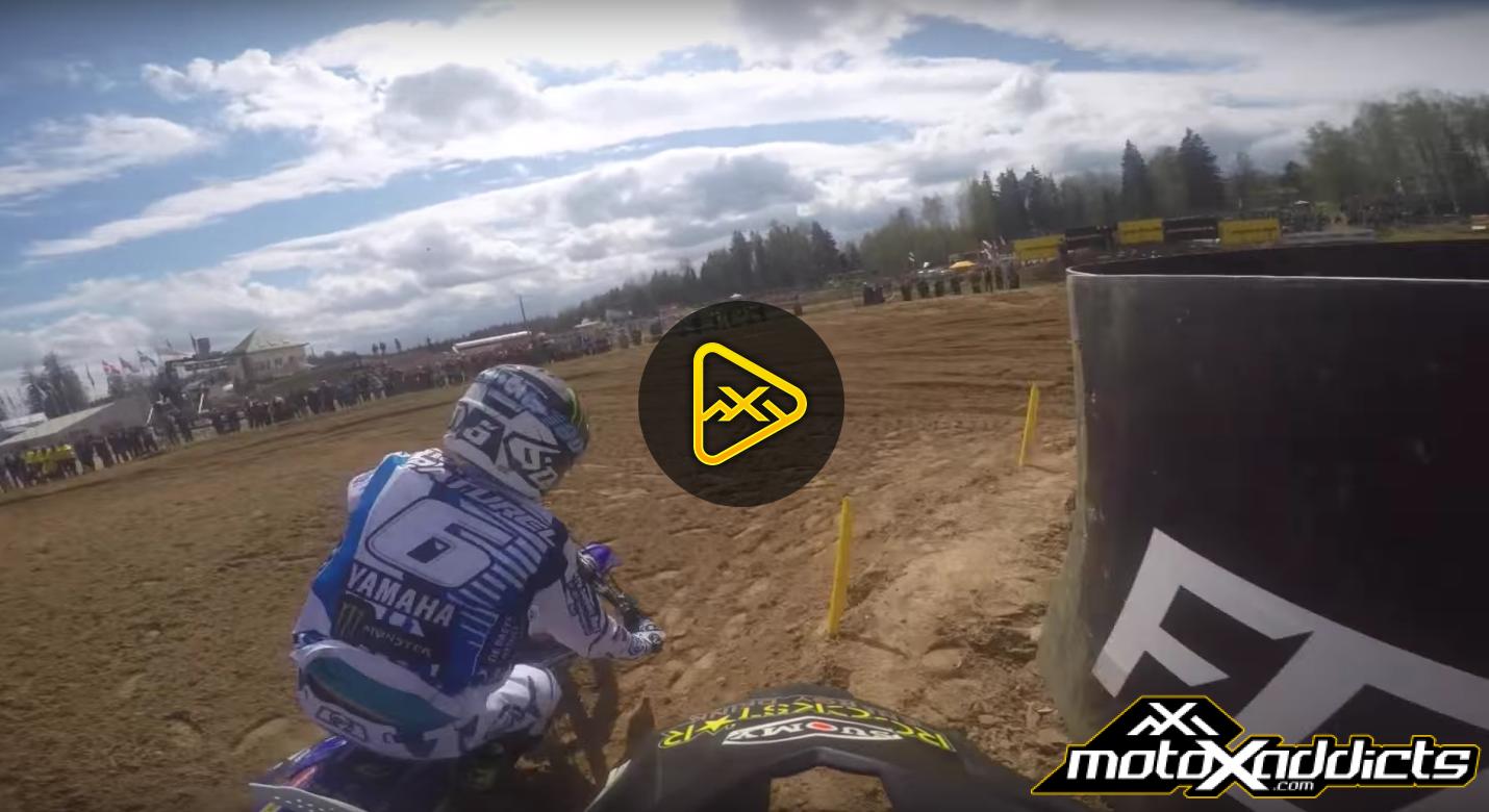 GoPro: Max Anstie FIM MXGP 2016 RD6 Latvia Race 1 Lap 1