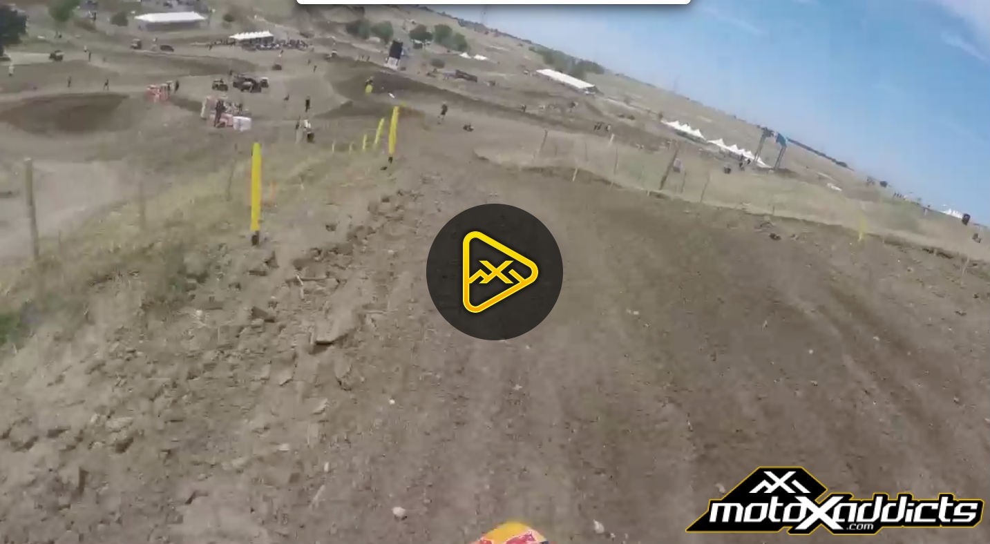 Helmet Cam: A Lap with Jessy Nelson at Hangtown National