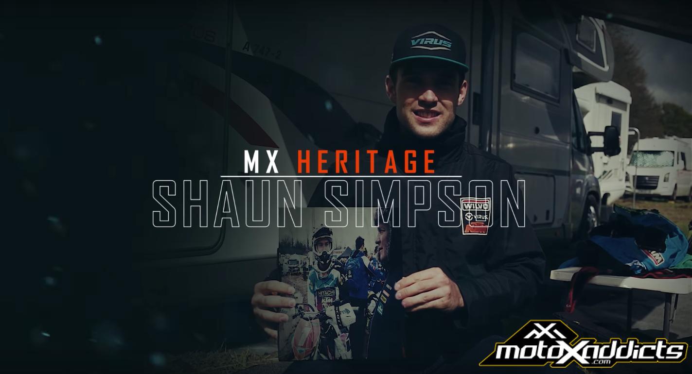 MX Heritage: Shaun Simpson