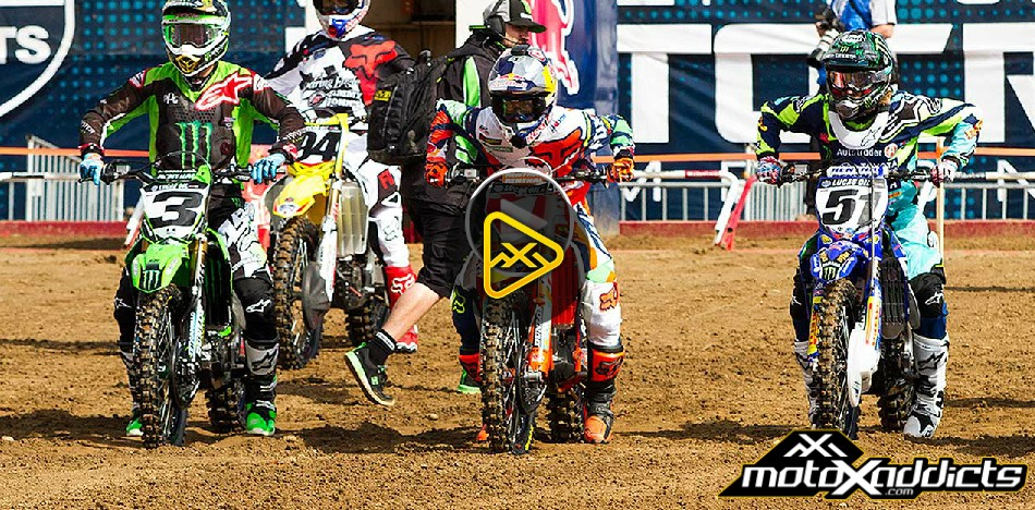 250MX and 450MX Highlights – 2016 Hangtown National