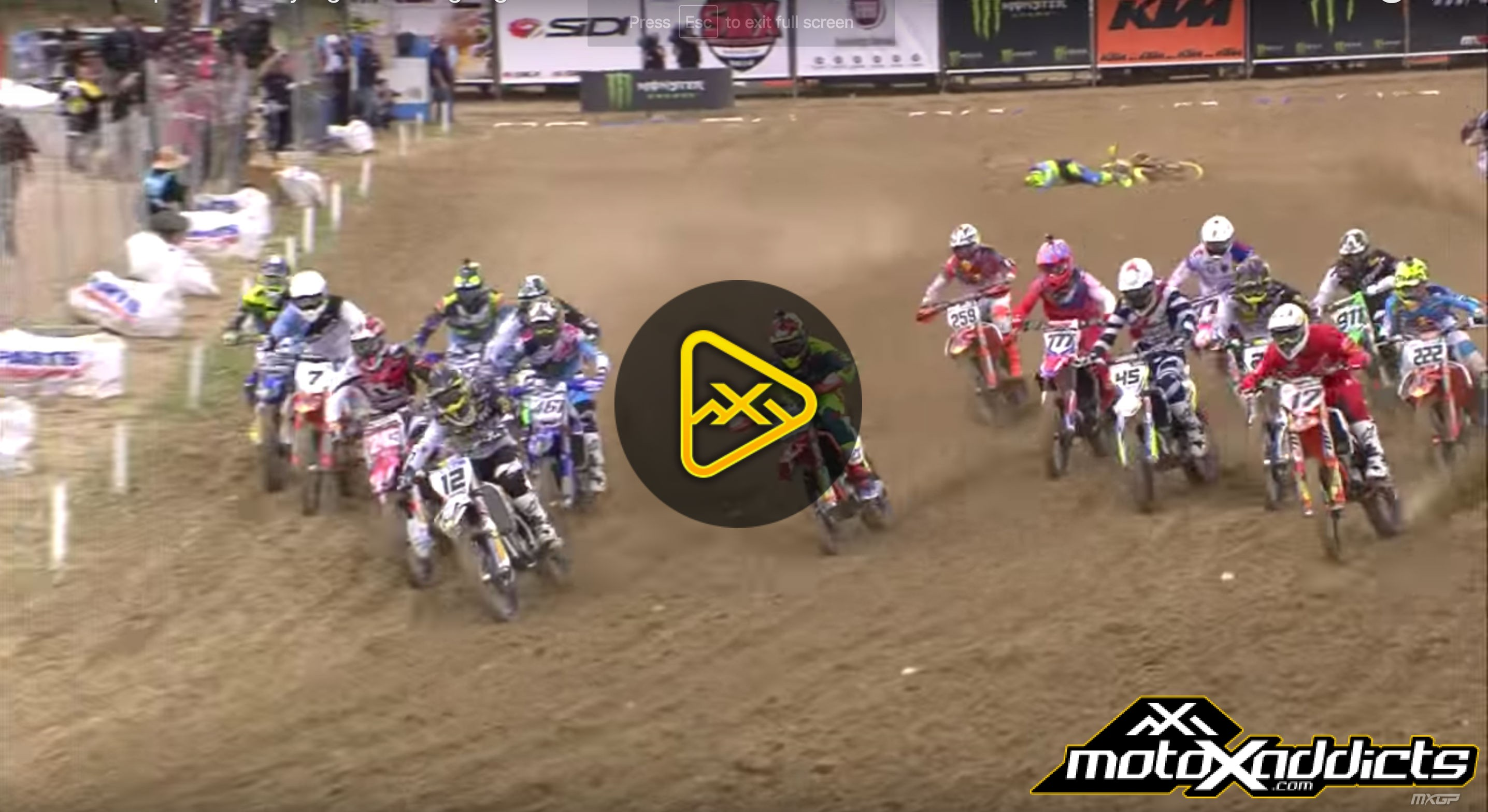 MXGP Qualifying Race Highlights – 2016 MXGP of Spain