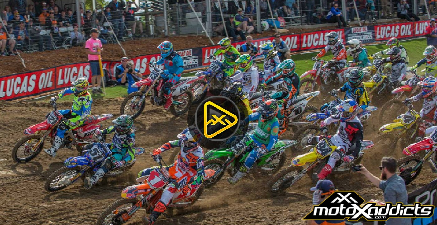 Watch all 4 Motos of 2016 Hangtown National In Full