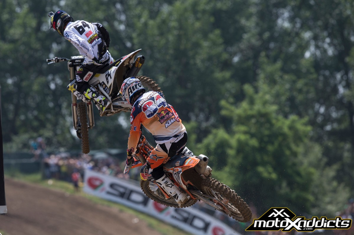 American Thomas Covington #64 was on point in Mantova. The Husky rider finished with a seasons best 4th.