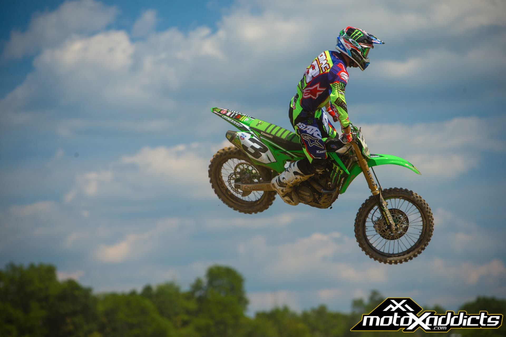 Eli Tomac finally saw the #94, but a mistake gave it an anticlimactic finish.