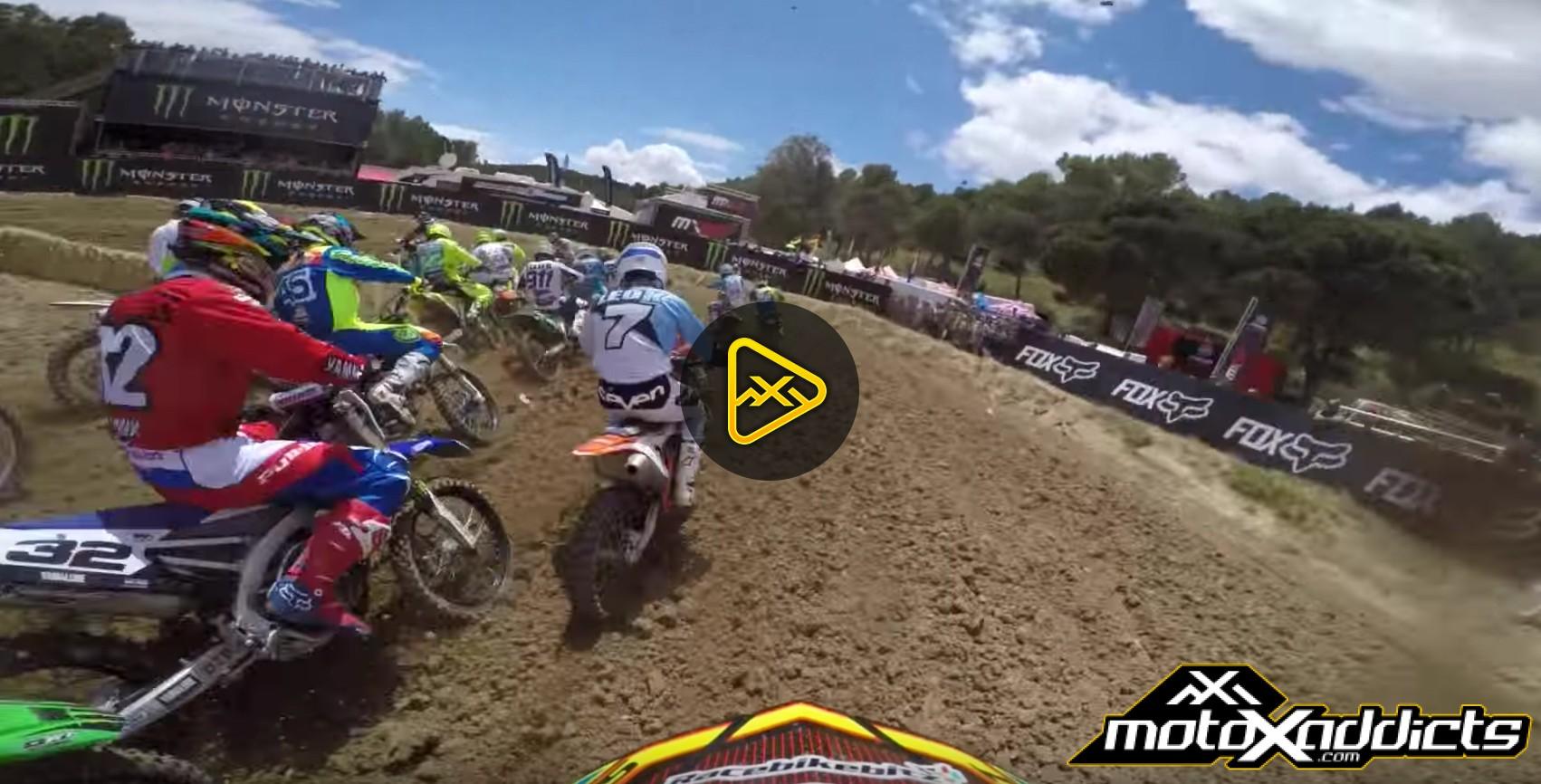 Helmet Cam: Shaun Simpson at 2016 MXGP of Spain