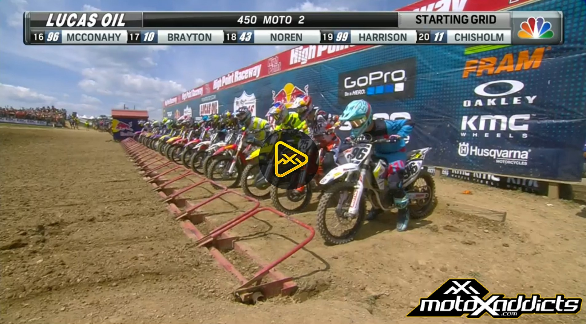 Watch All 4 Motos of 2016 High Point National in Full
