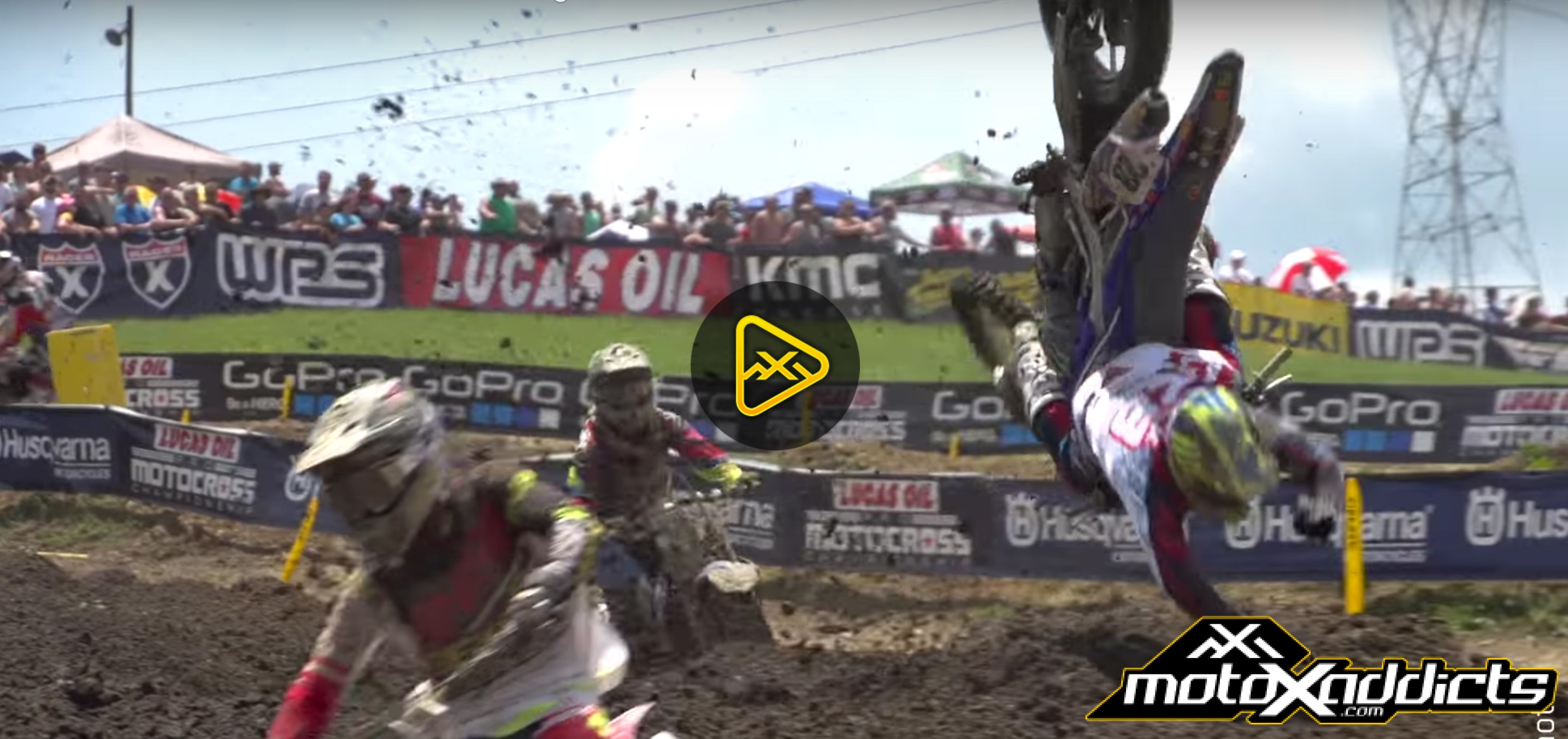Weston Peick Crash: 2016 High Point National