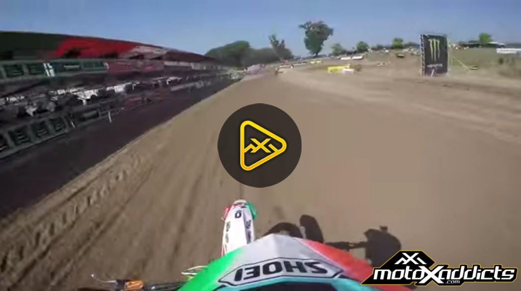 Helmet Cam: Mantova Track Preview at 2016 MXGP of Lombardia-Italy