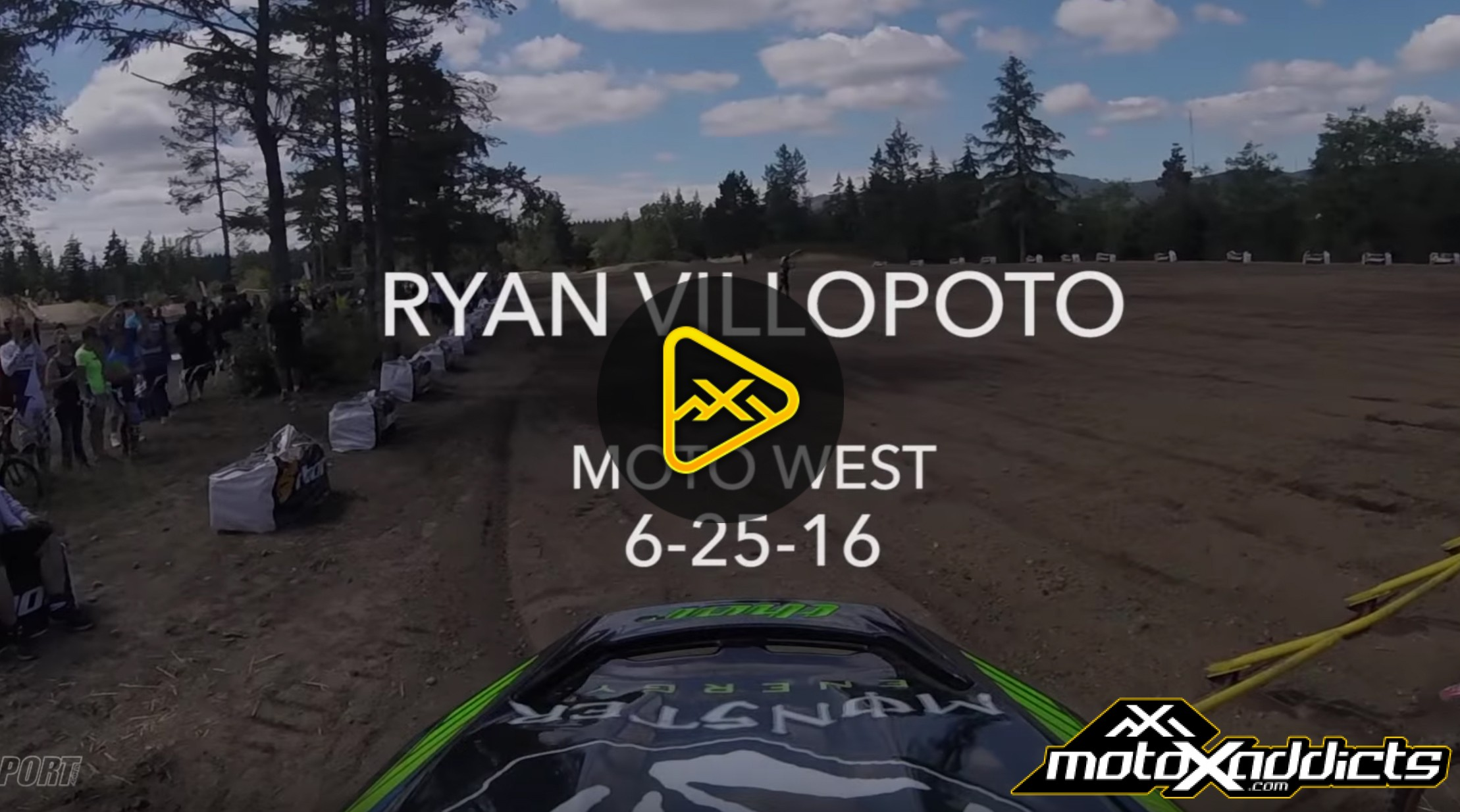Helmet Cam: Ryan Villopoto Comes off the Couch for Northwest MX Series