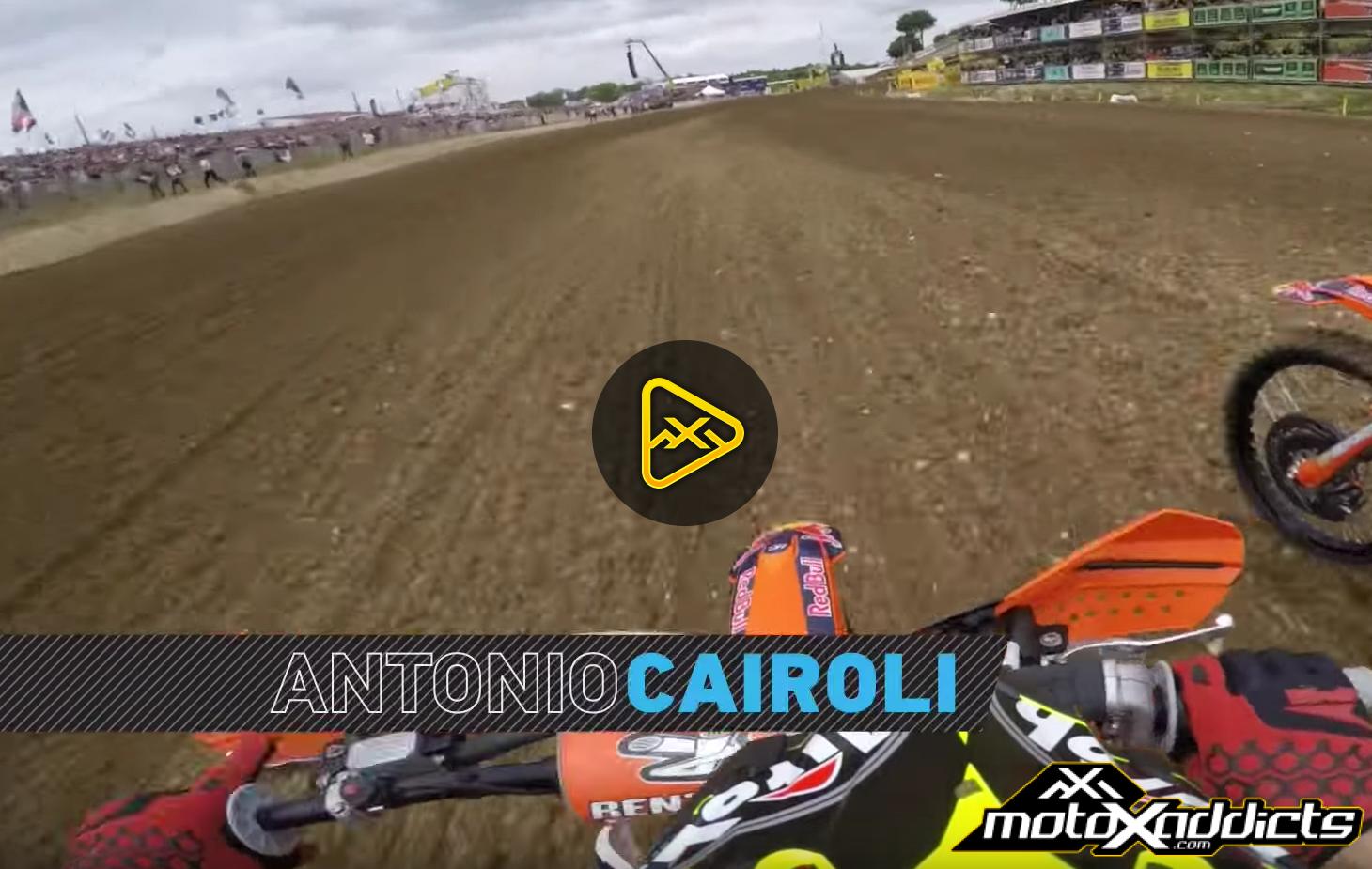 GoPro Helmet Cam: Antonio Cairoli at 2016 MXGP of France