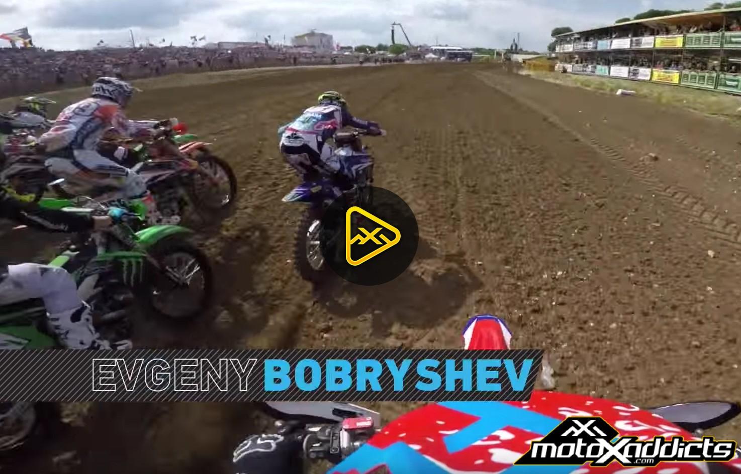 GoPro Helmet Cam: Evgeny Bobryshev at 2016 MXGP of France