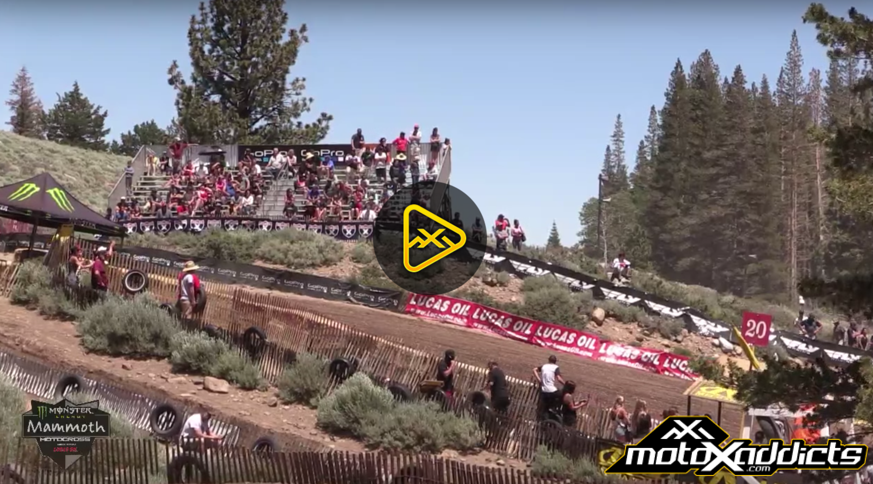 Monster Energy Mammoth Motocross – Replay Friday Live Action