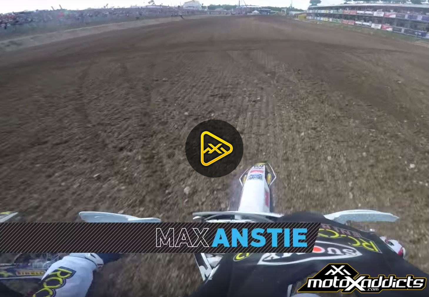 GoPro Helmet Cam: Max Anstie at 2016 MXGP of France