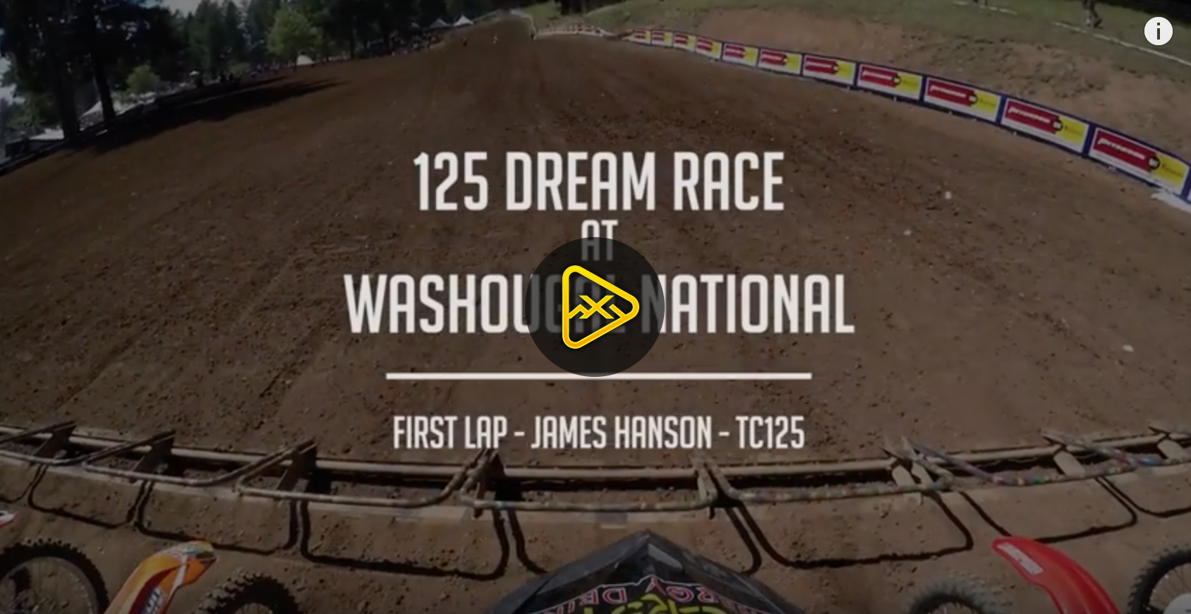 Helmet Cam: 125 Dream Race at Washougal National