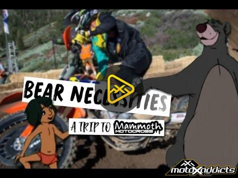 Bear Necessities – A Trip to Mammoth Motocross