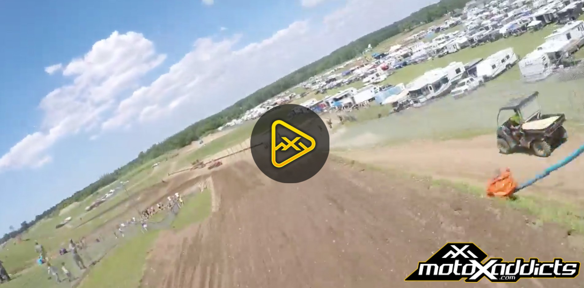 Helmet Cam: A Lap with Broc Tickle National