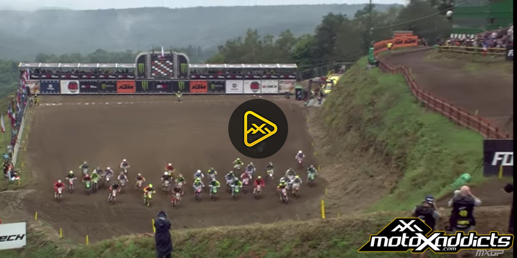 MXGP Qualifying Highlights – 2016 MXGP of Czech republic