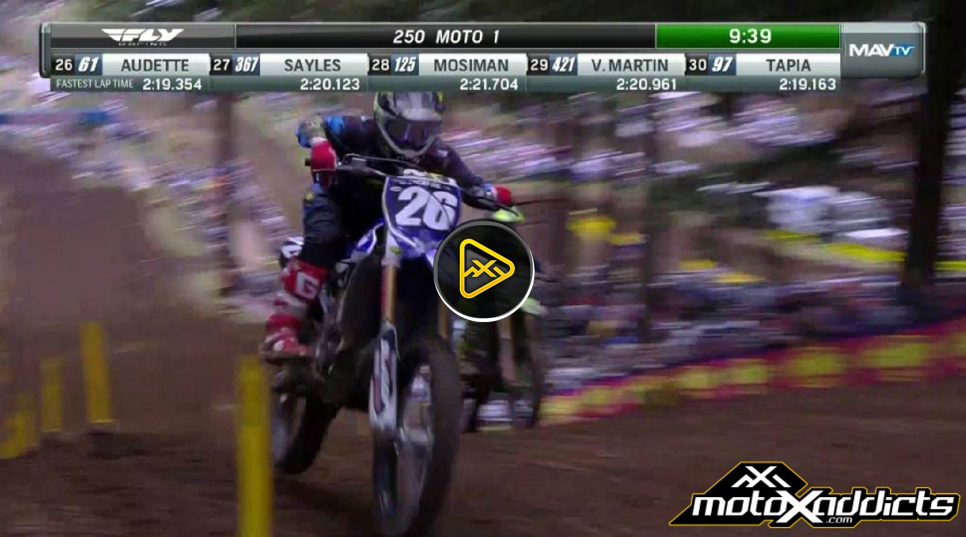250MX Highlights – 2016 Washougal National