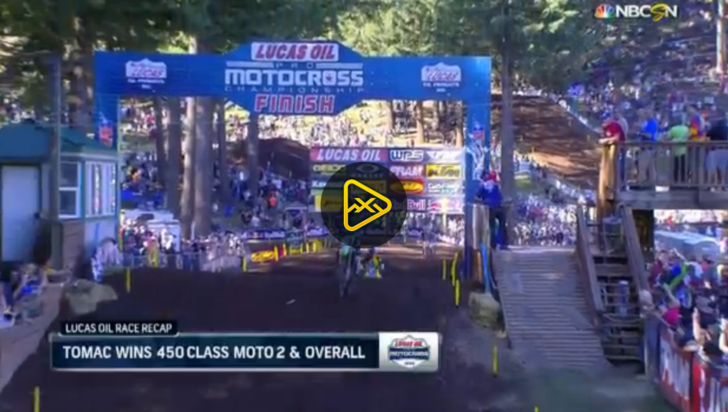 450MX Highlights – 2016 Washougal National
