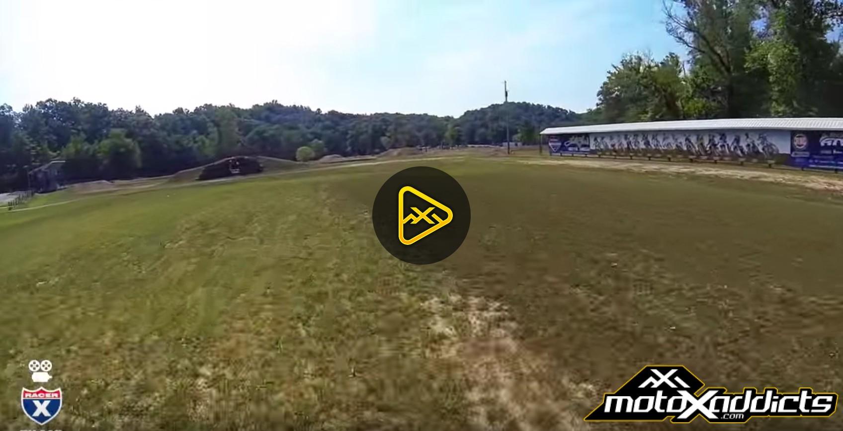 Helmet Cam: 2016 Loretta Lynn's Track Preview on a Grom