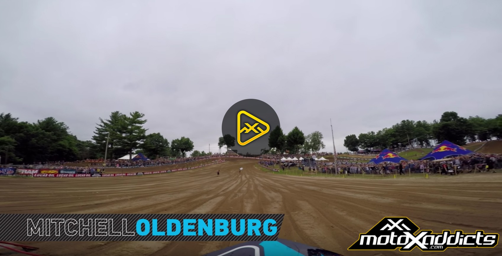 GoPro Helmet Cam: Mitchell Oldenburg at 2016 Southwick National