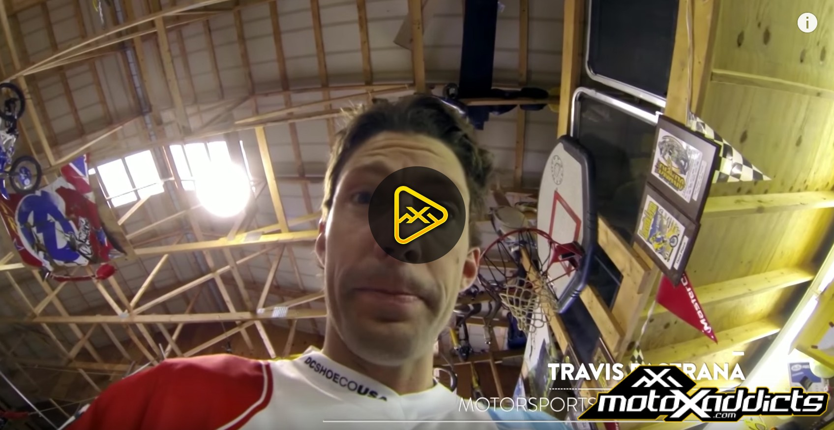 Helmet Cam: Travis Pastrana  at His Private Compound –  On Any Sunday