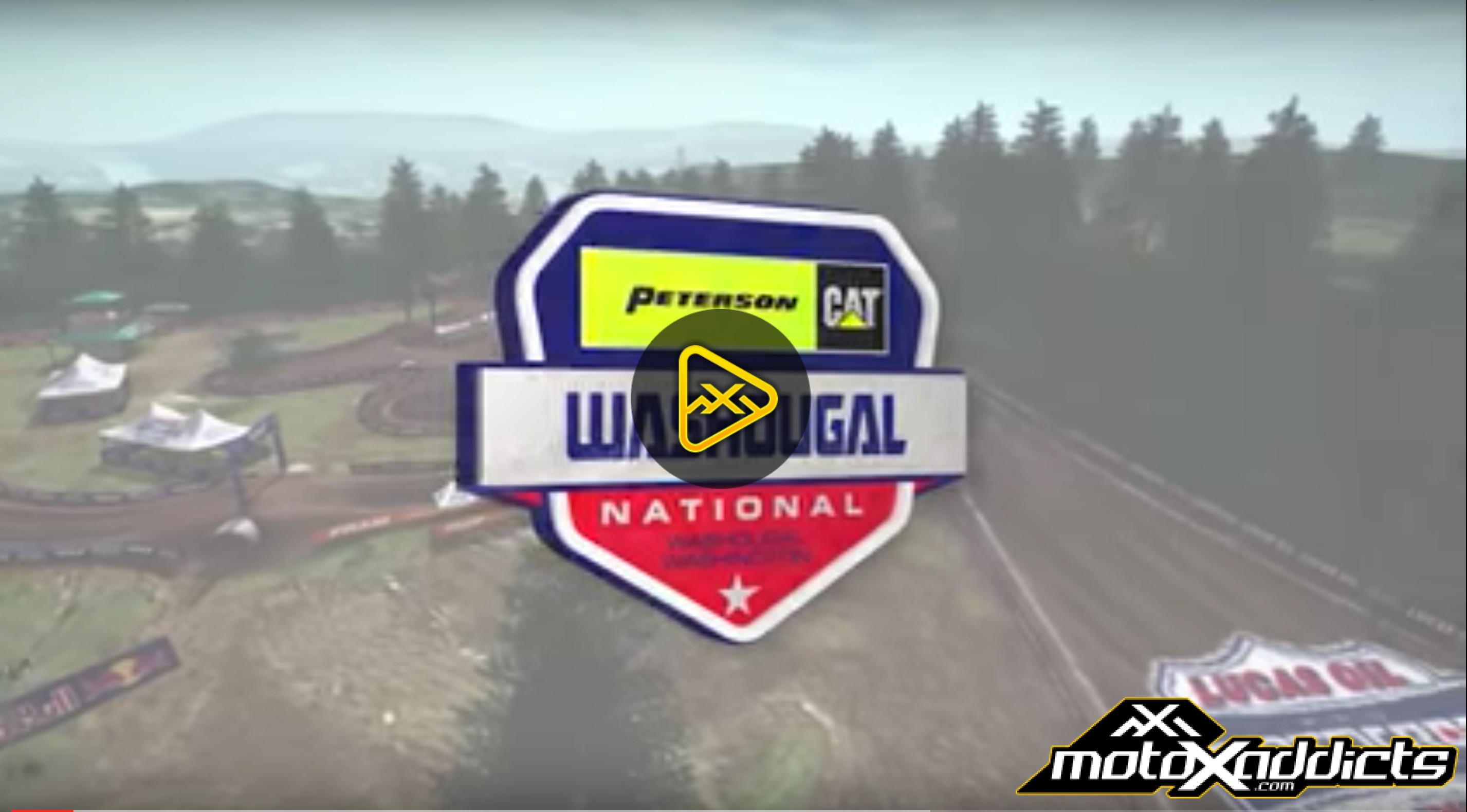 2016 Washougal National Animated Track Map