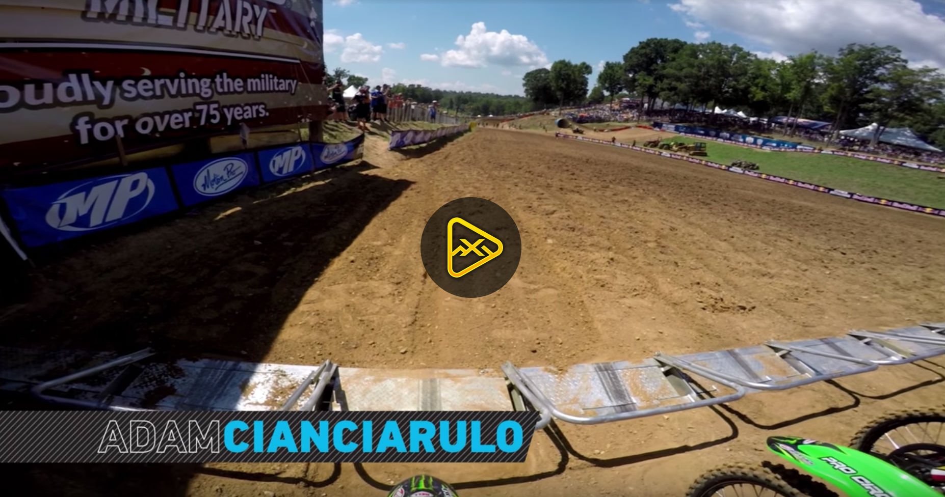 GoPro Helmet Cam: Adam Cianciarulo at 2016 Budds Creek National