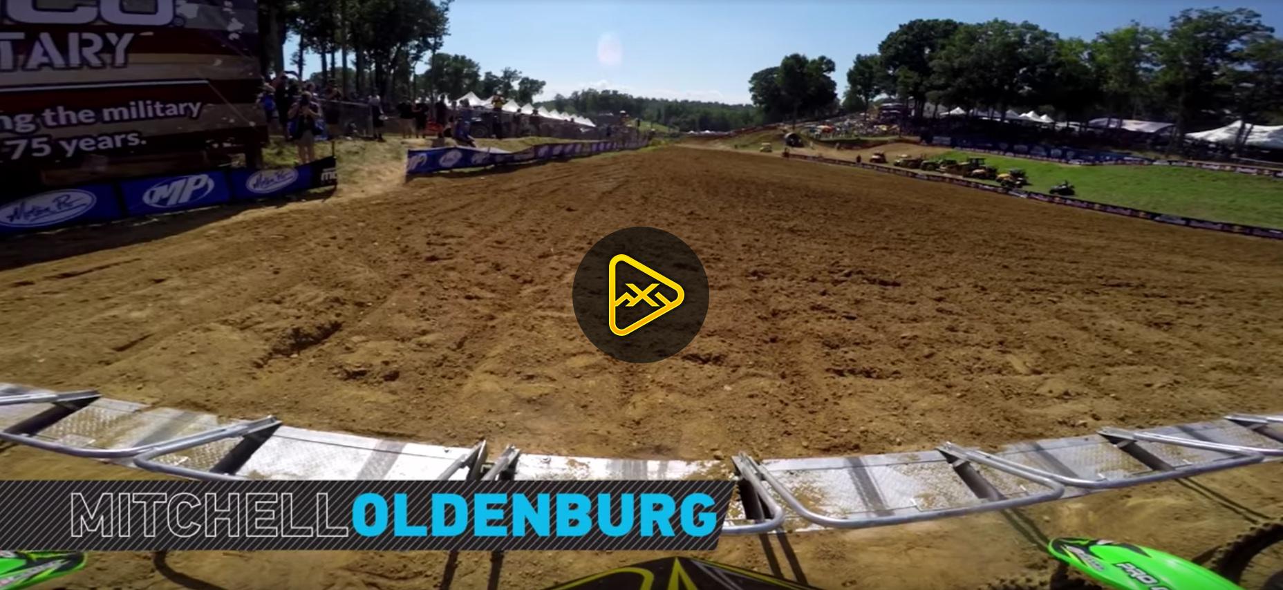 GoPro Helmet Cam: Mitchell Oldenburg at 2016 Budds Creek National