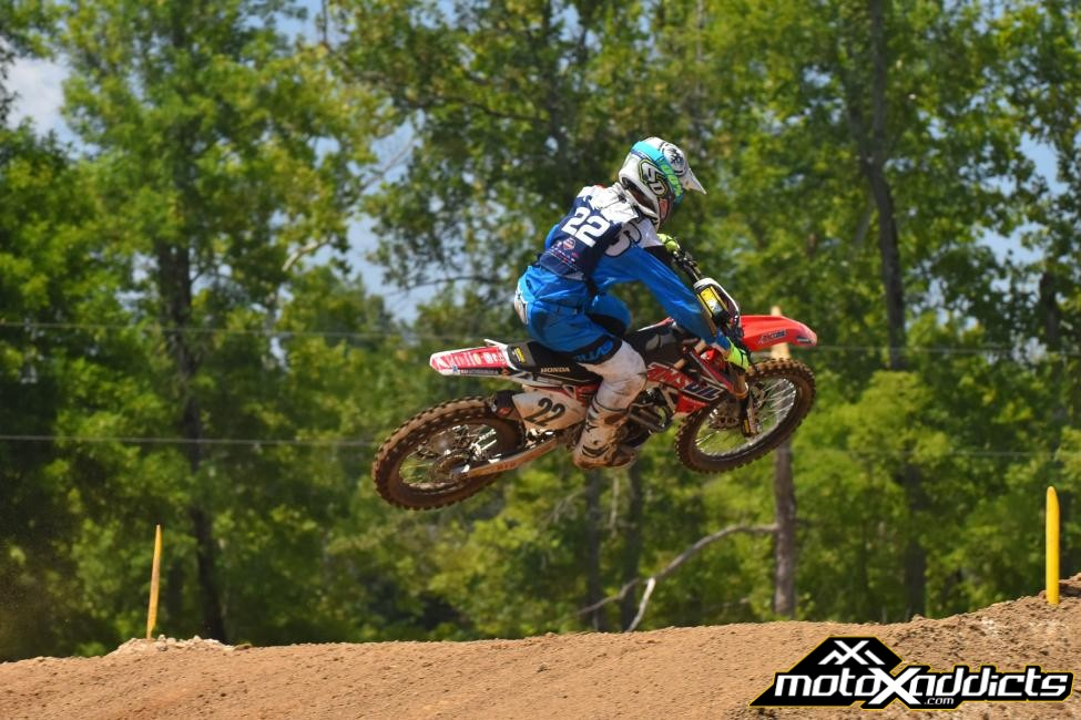 Chase Sexton recorded the two fastest laps of the week, and collected an Open Pro Sport Championship. Photo by: Ken Hill - Courtesy of MXSports