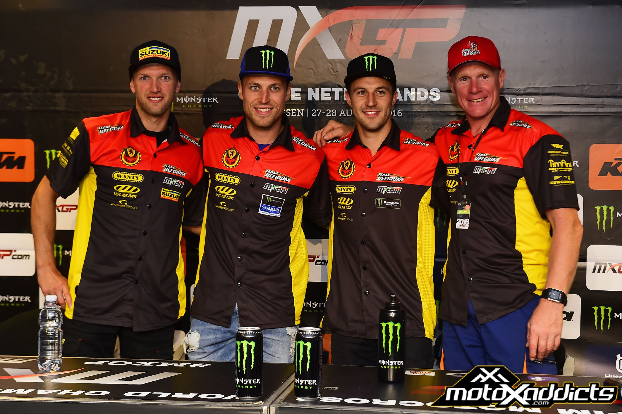 2016 MXoN – Team Belgium Presented at Assen MXGP
