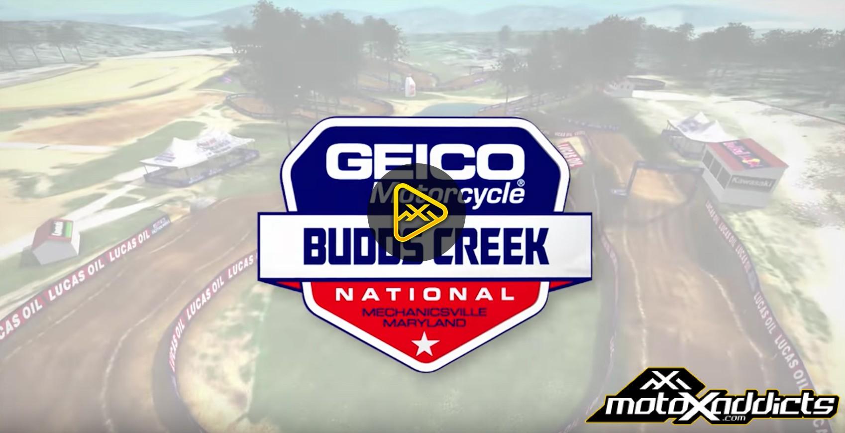 2016 Budds Creek National Animated Track Map