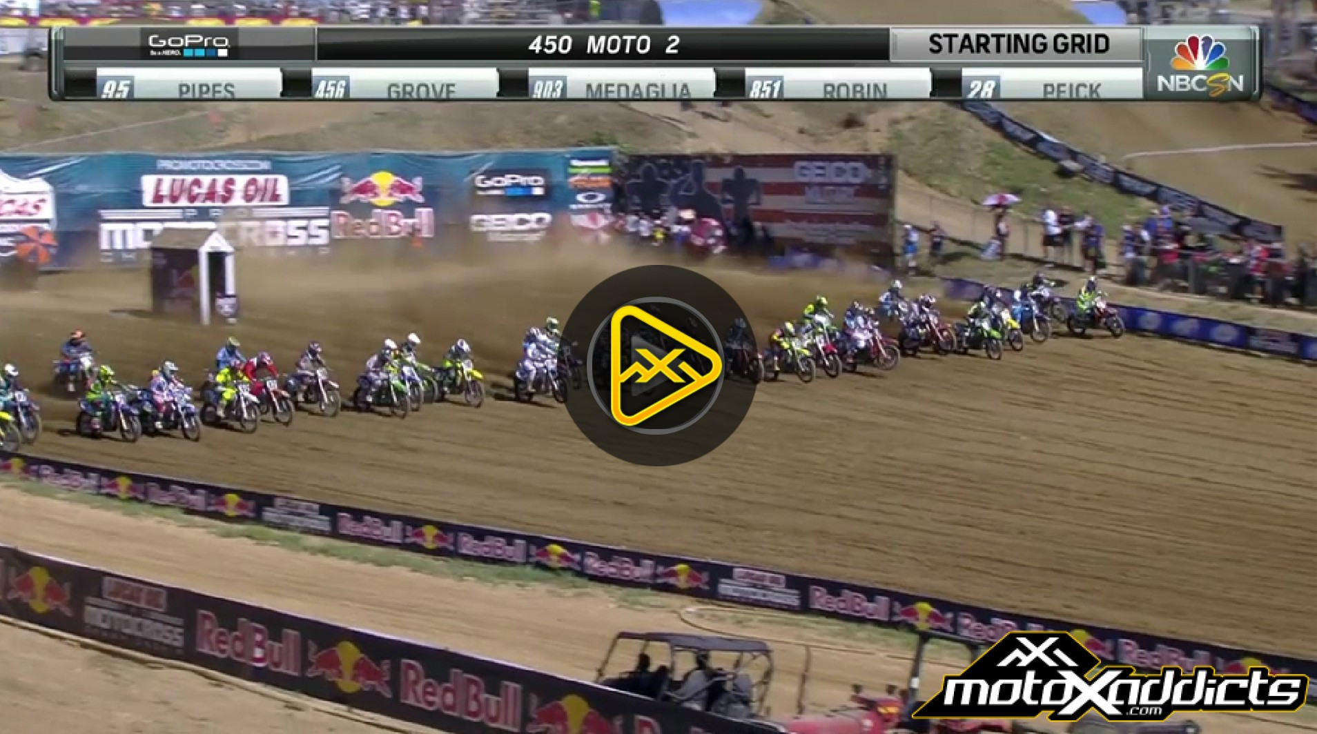 Watch All 4 Motos of 2016 Budds Creek National in Full