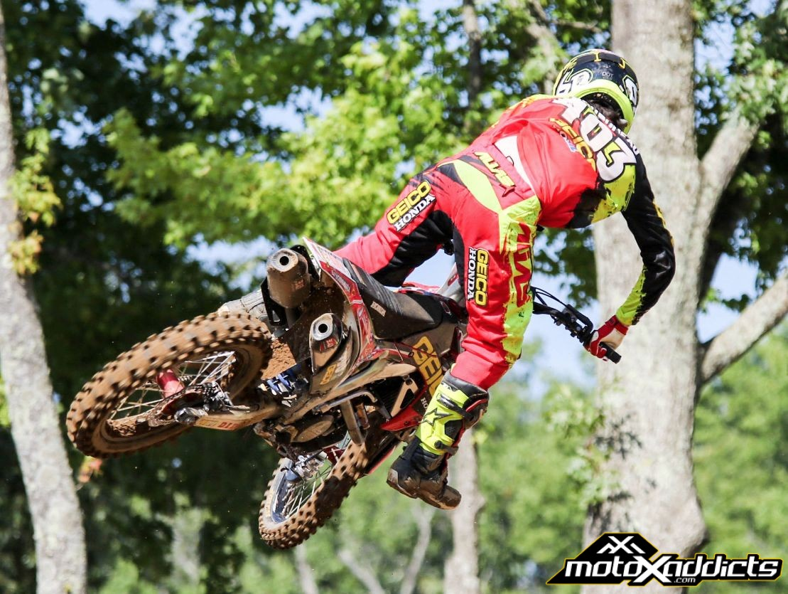 You know GEICO / Honda is struggling when 15th is their top finishing rider at a National.