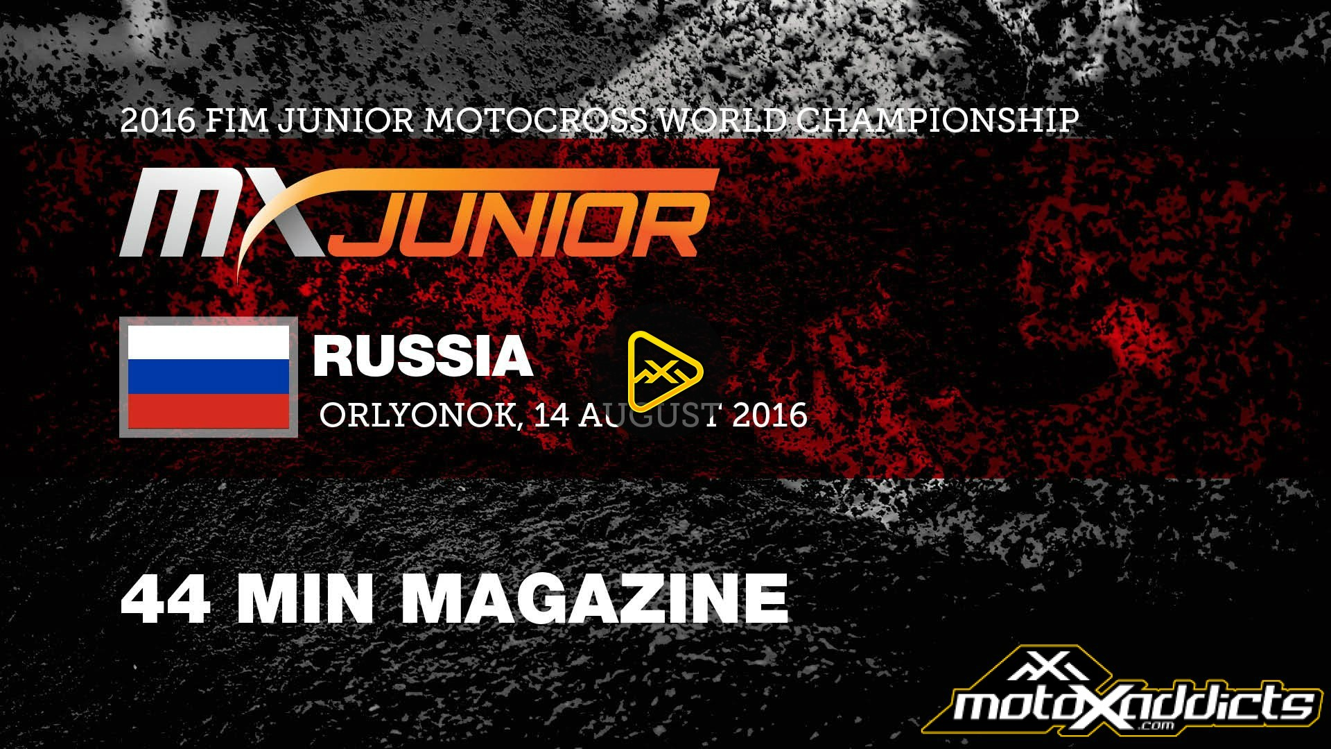 Behind the Gate 2016 Junior MX World Championship – Russia