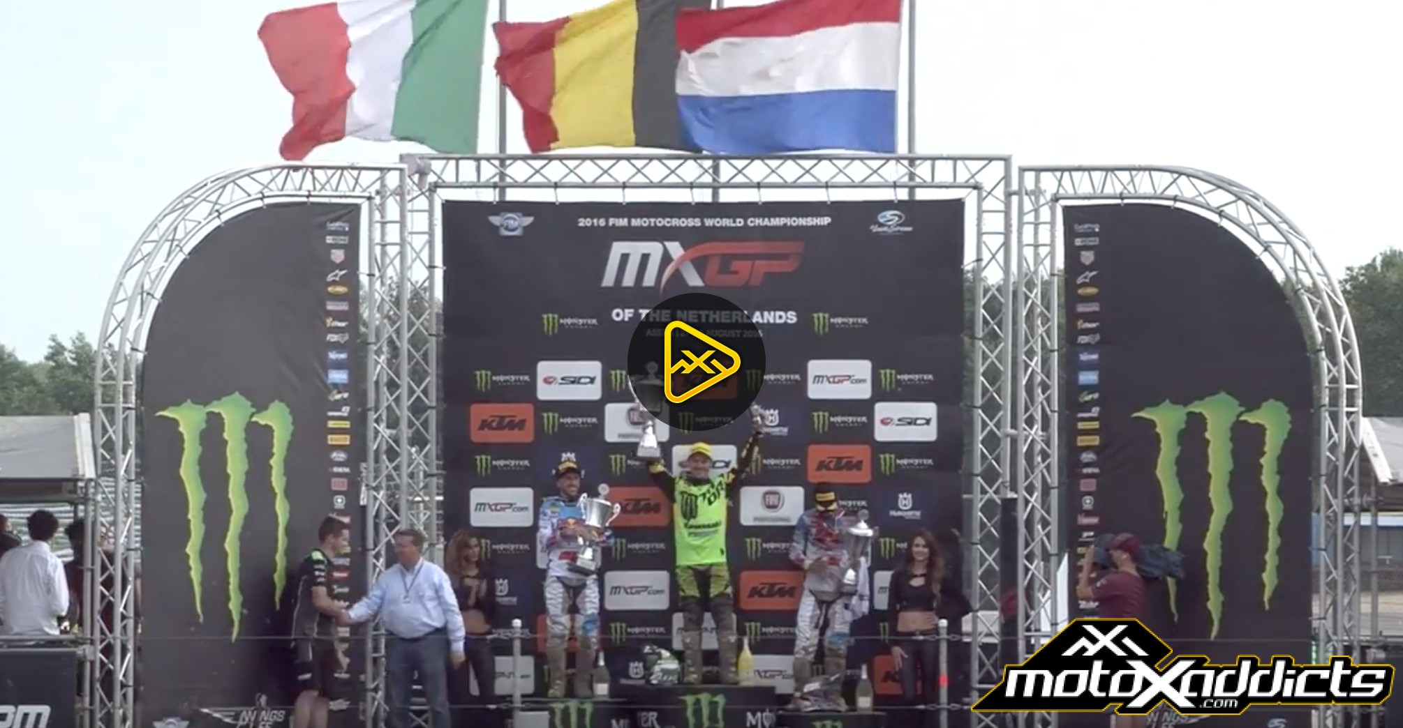 MXGP & MX2 Highlights from 2016 MXGP of the Netherlands