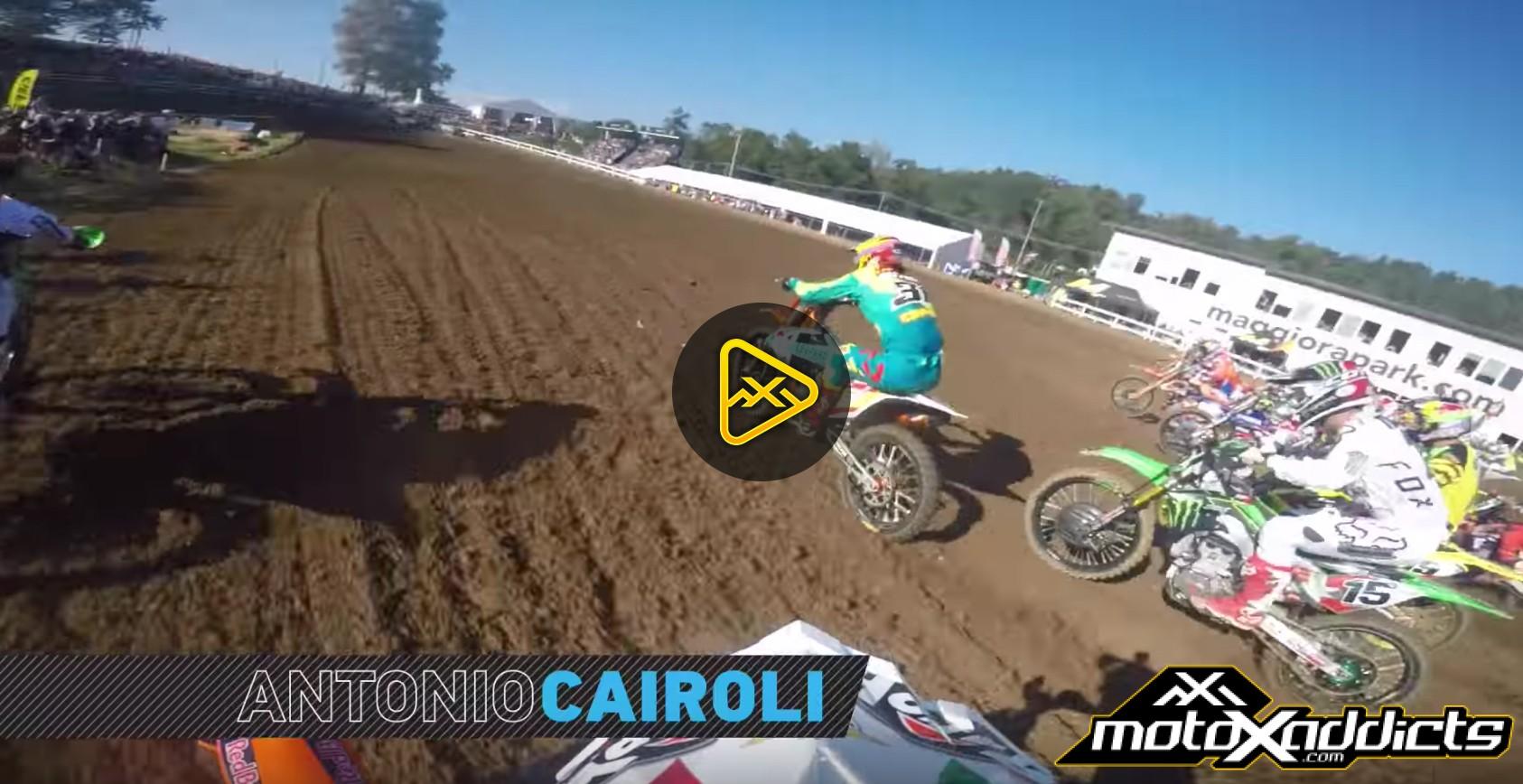 Helmet Cam: Antonio Cairoli at 2016 MXoN