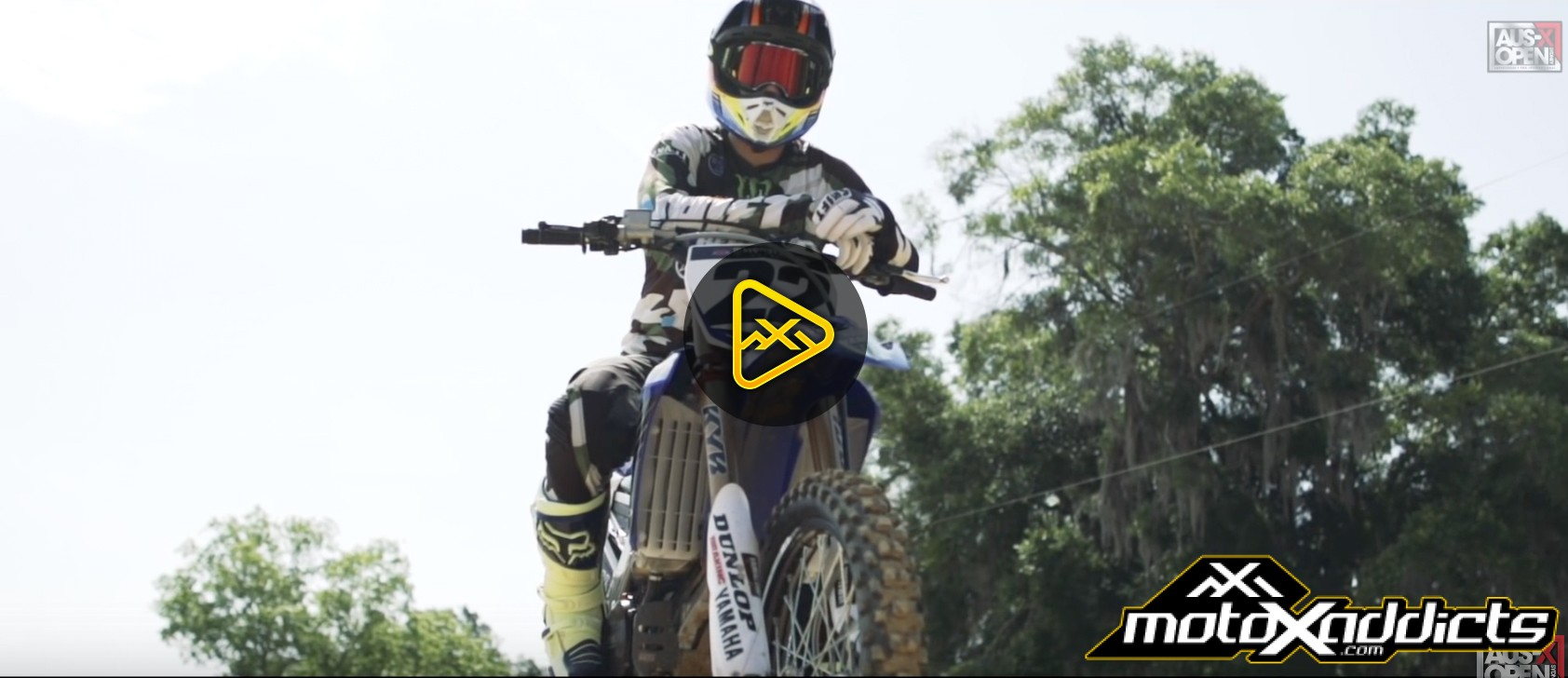 """Chad Reed in """"Homecoming of a Hero"""""""