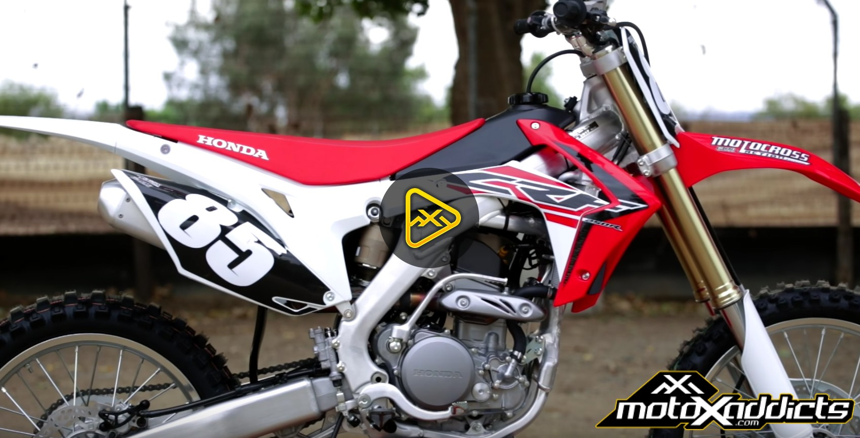 motoxaddicts first ride of the 2017 honda crf250. Black Bedroom Furniture Sets. Home Design Ideas