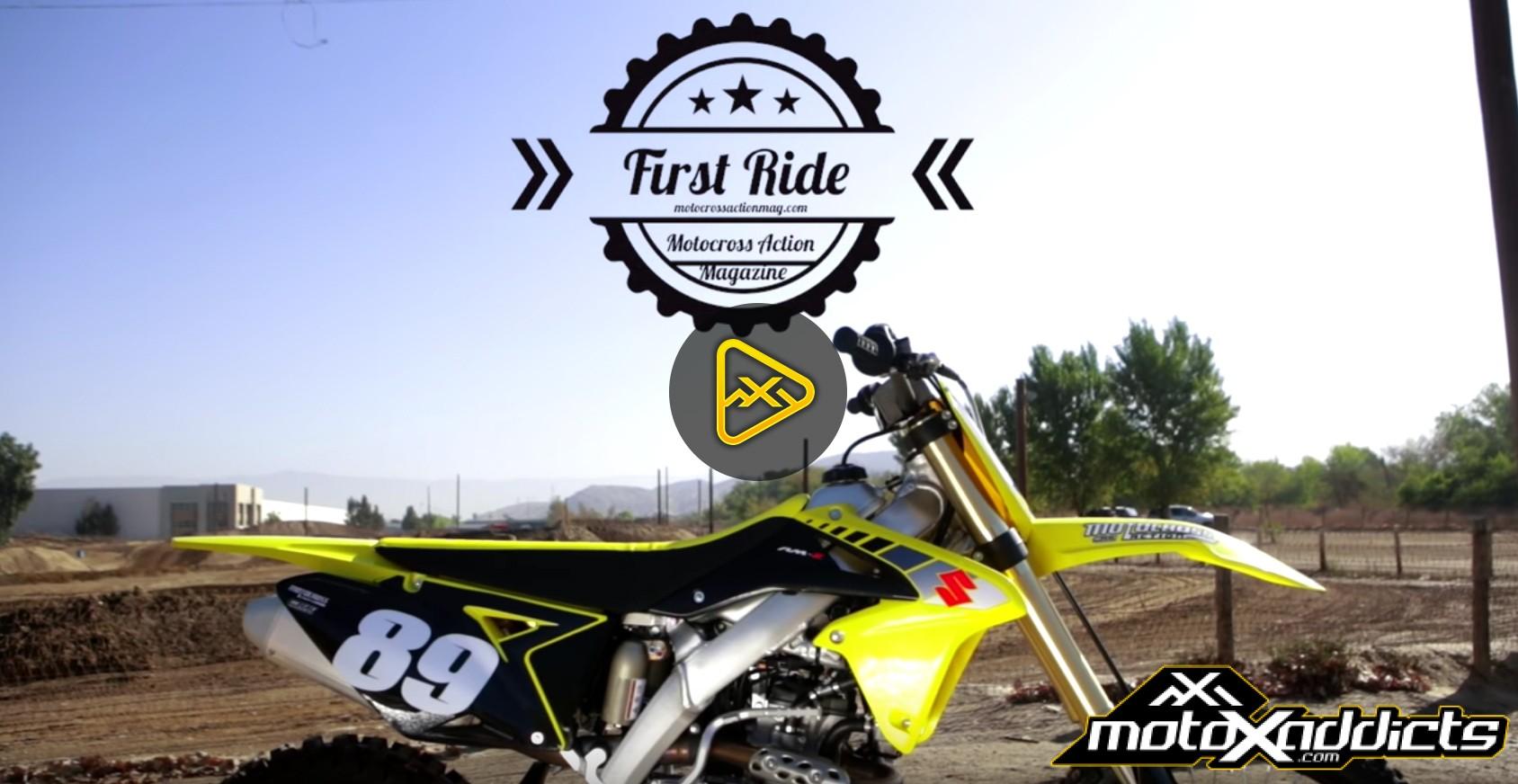First Ride 2017 Suzuki RMZ 250