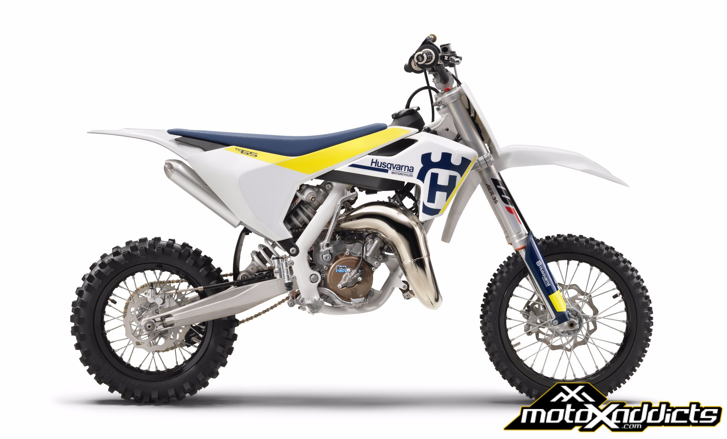motoxaddicts new 2017 husqvarna 50cc and 65cc motocross line. Black Bedroom Furniture Sets. Home Design Ideas