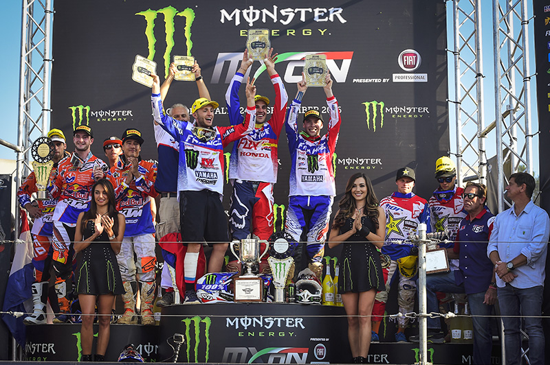 French Victorious at 2016 Motocross of Nations