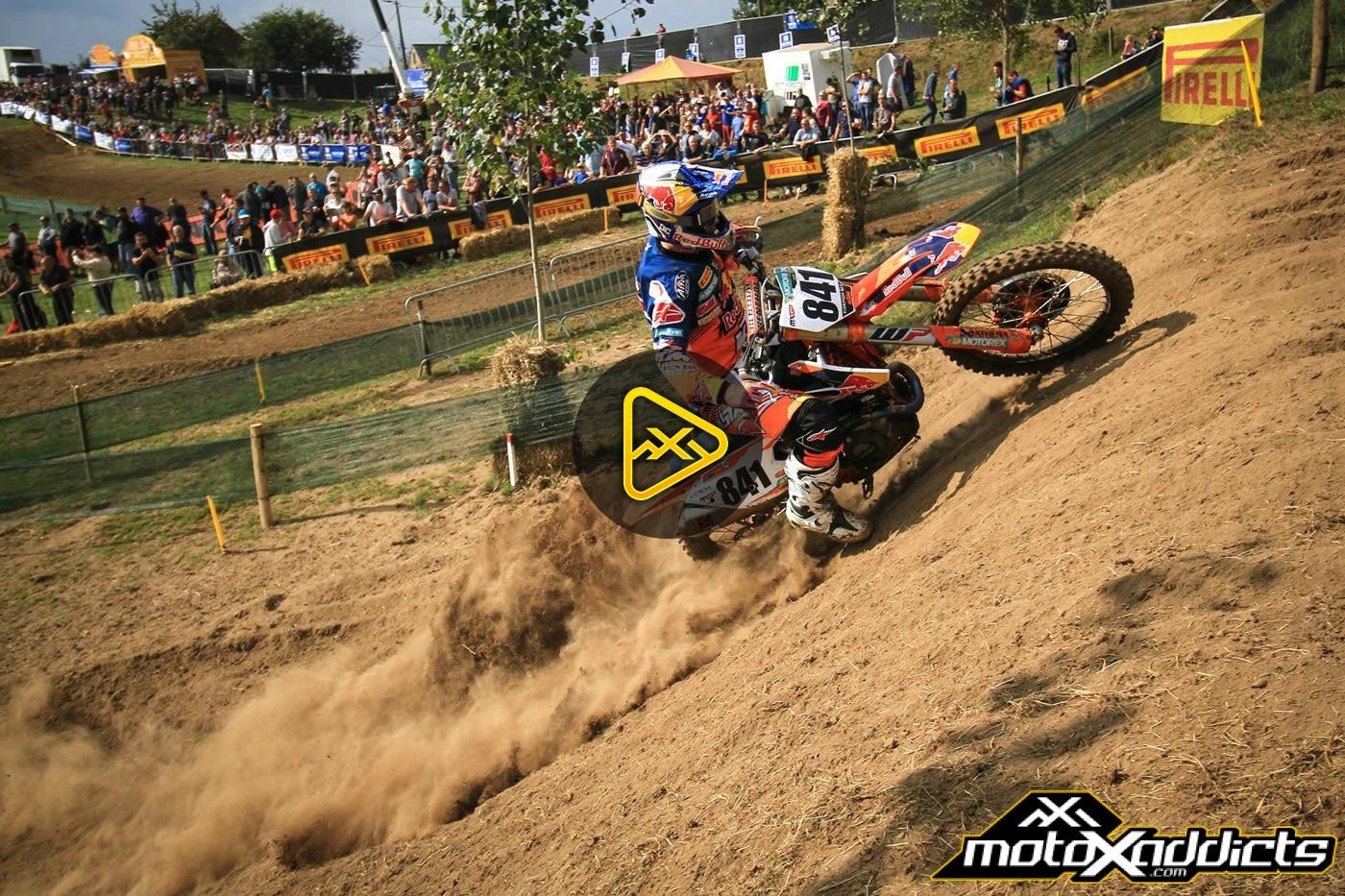 Jeffrey Herlings on a 450 in Belgium