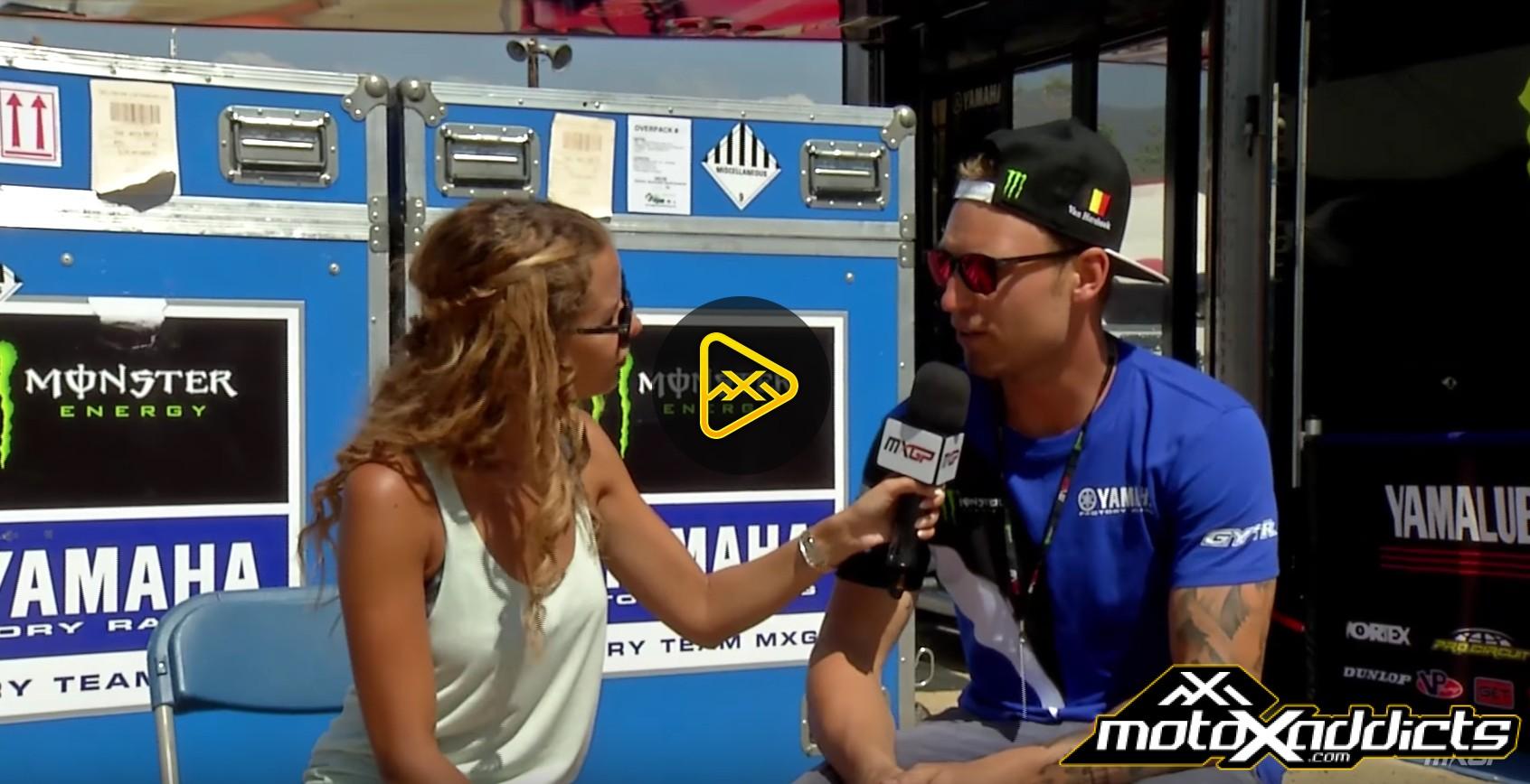 Jeremy Van Horebeek Interview – 2016  MXGP of The USA