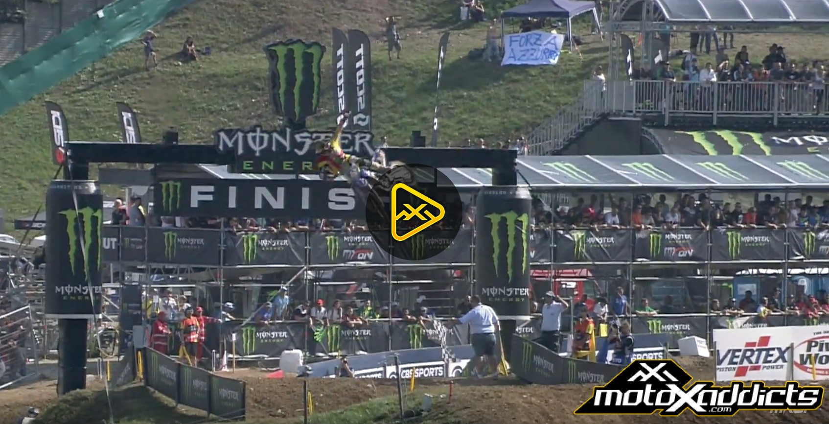 Best Moments – MX2 Qualifying Highlights – 2016 MXoN