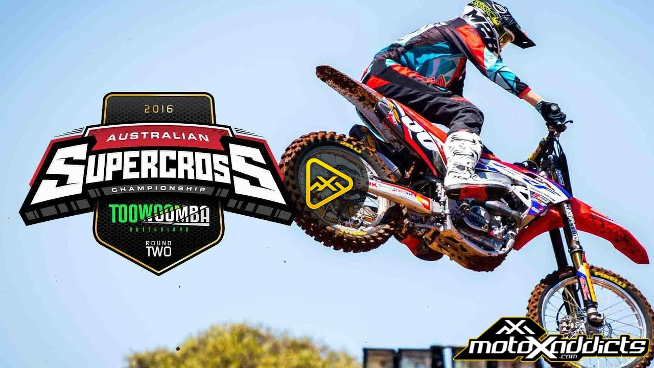 2016 Australian Supercross Championships – Rd 2 Highlights