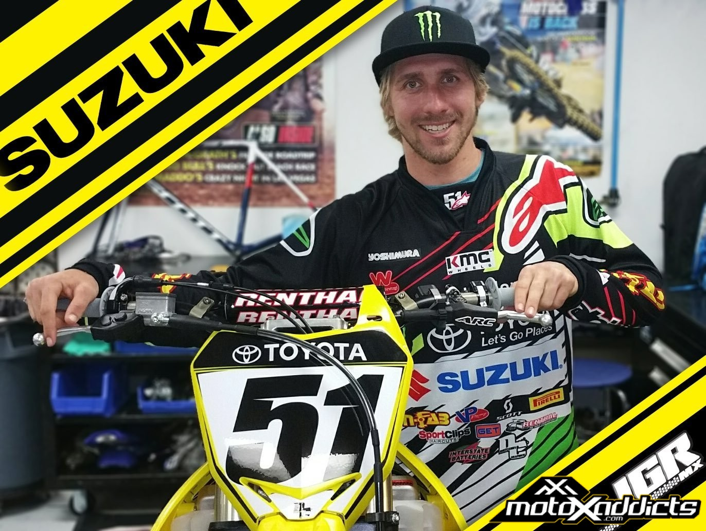 JGR Switches to Suzuki for 2017 – Barcia, Peick and Nicoletti on Board